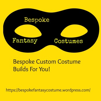 Design and image copyright of Bespoke Fantasy Costumes, 2016.